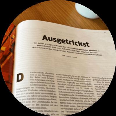 WIRTSCHAFTSWOCHE: AUSGETRICKST