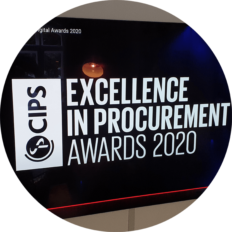 "TWS Partners and NHS England win award for ""Public Procurement Project of the Year"" at the CIPS Excellence in Procurement Awards 2020"