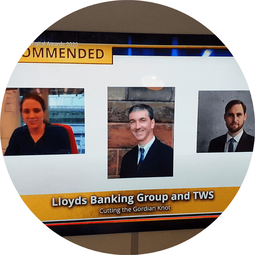 "TWS Partners and Lloyds Banking Group win ""Highly Commended"" award at the CIPS Excellence in Procurement Awards 2020"