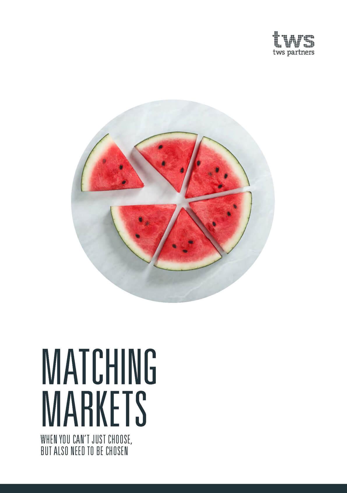 <span>WHITEPAPER</span> Matching Markets