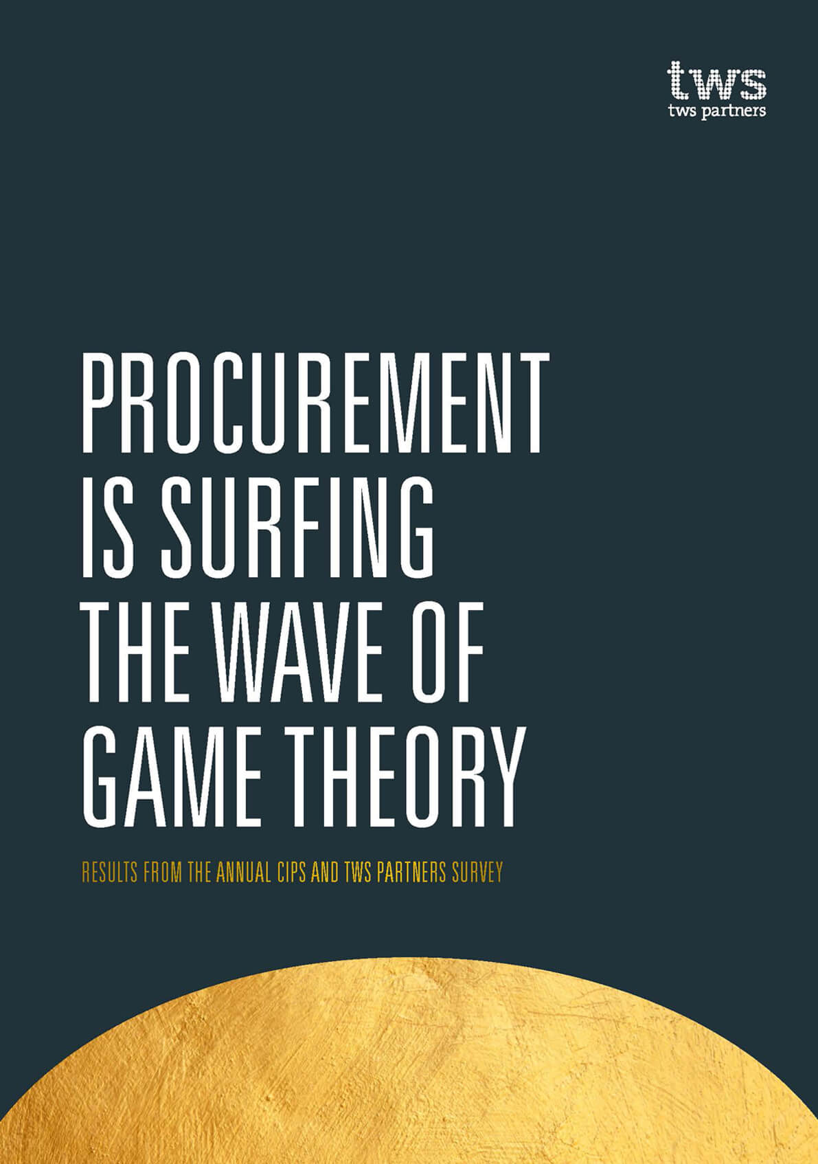 <span>SURVEY</span> Game theory in Procurement